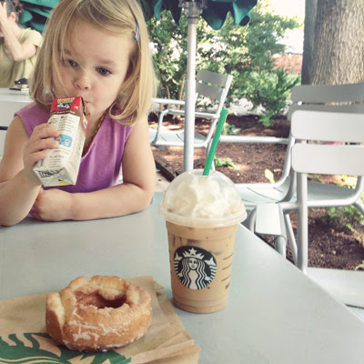 #fridaydonutdate (starbucks)