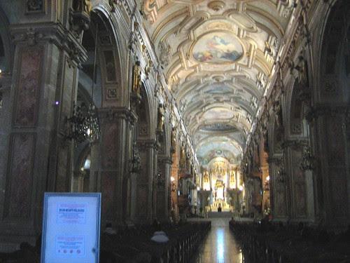 Inside Santiago Metropolitan Church 2