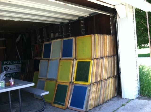 Used Screen Frames Wood