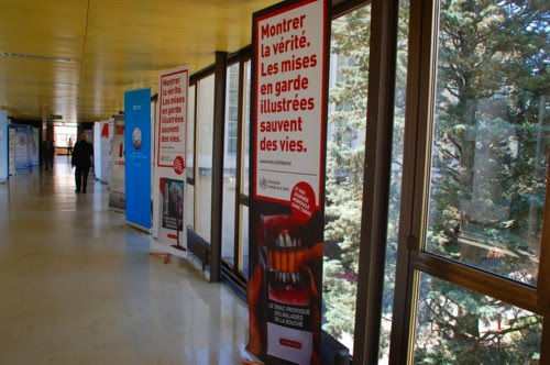 WHO poster on tobacco use