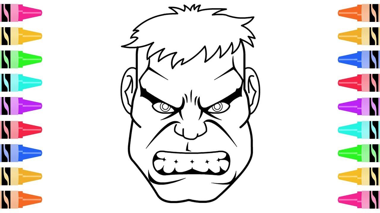 Hulk Drawing Face at GetDrawings | Free download