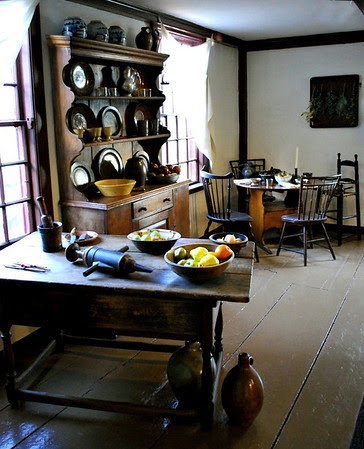 Kitchen of the Nathaniel Hawthorne Birthplace House