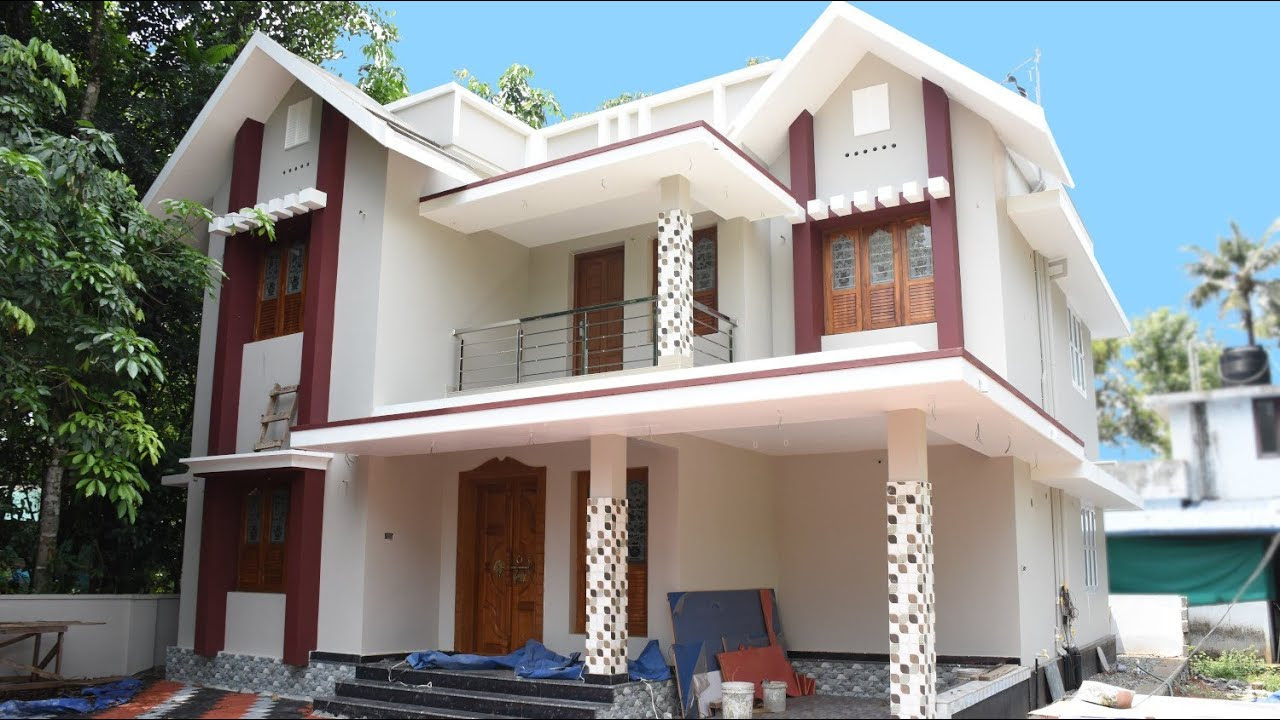 2000 Sq Ft 4BHK Contemporary Style Two Storey House at 6