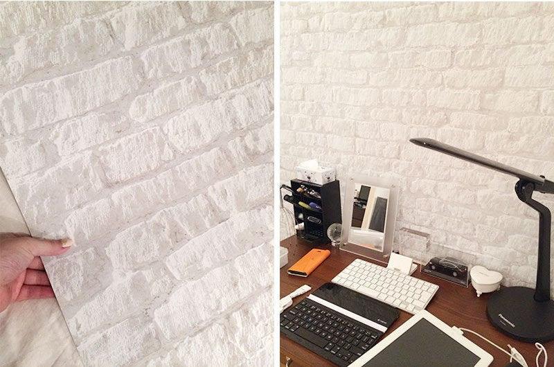 賃貸DIY!貼ってはがせるおしゃれなシール壁紙 36柄 ルーム  - 壁紙 貼ってはがせる