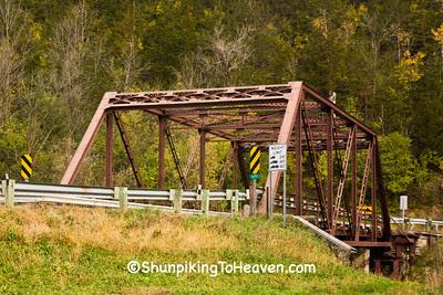 Through Truss Bridge Over Root River, Filmore County, Minnesota