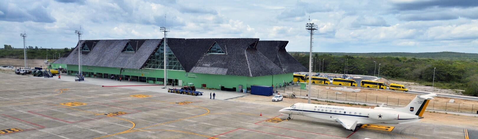 Resultado de imagem para aeroporto de jericoacoara