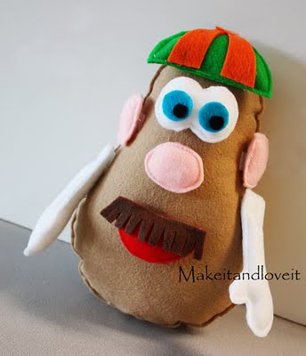 felt mr potato head