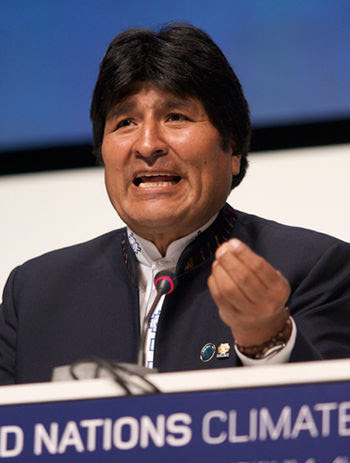 English: President of Bolivia, Evo Morales, De...