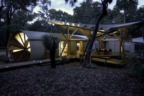 luxury camping pods drew house