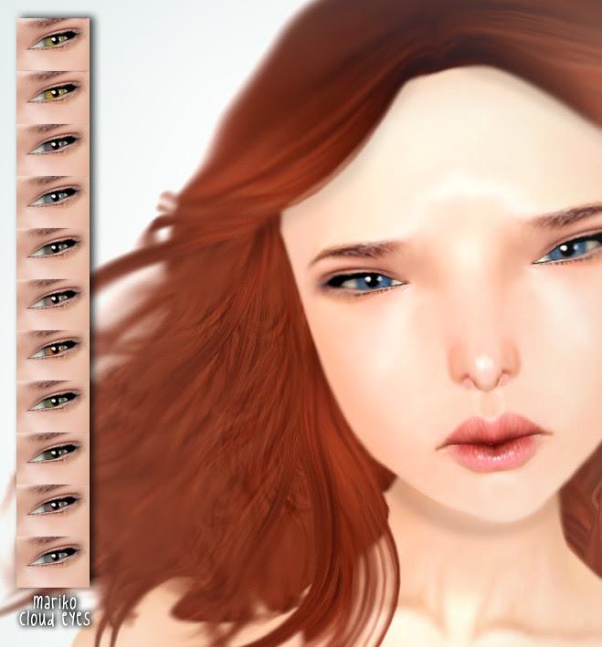 MARIKO Reira skin01 & Cloud Eyes