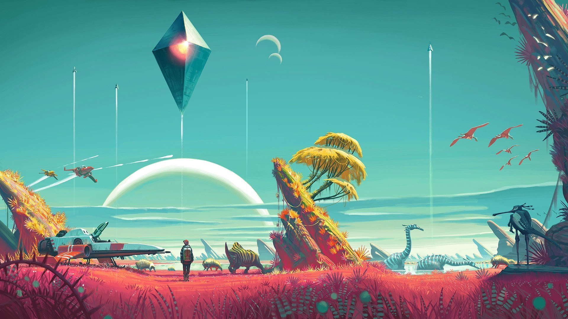 No Mans Sky Wallpaper 1920x1080 86 Images