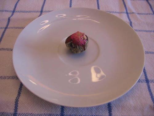 Tea ball before