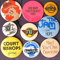 Rock music badges 2