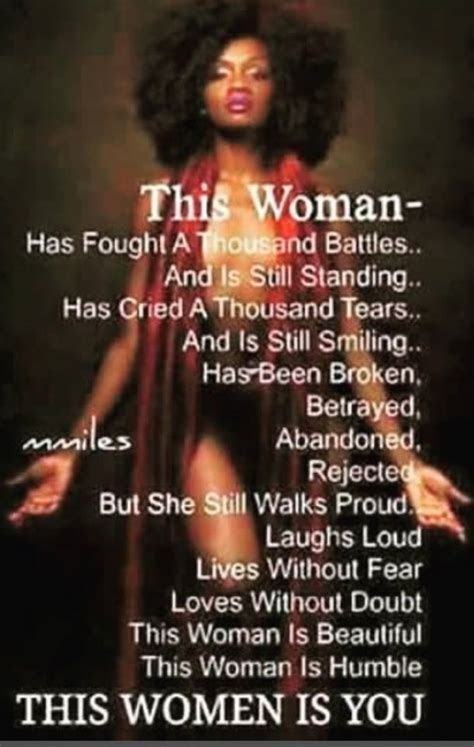 Lovely Beautiful Black Woman Quotes - Allquotesideas