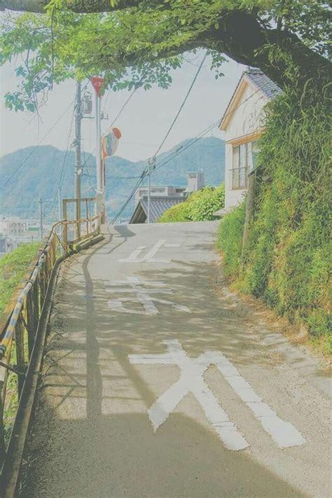 aesthetic japan cool  anime scenery japan