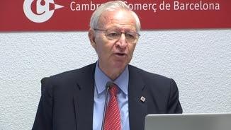 El president de la Cambra de Comerç de Barcelona, Miquel Valls