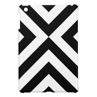 Black and White Chevrons iPad Mini Covers