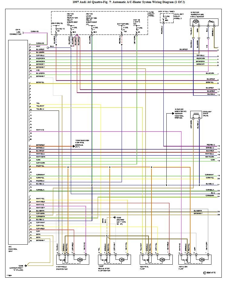 Quattroworld Com Forums Climate Control Wiring Diagram 1 Of 2 Sorry Only Lo Res But In Color