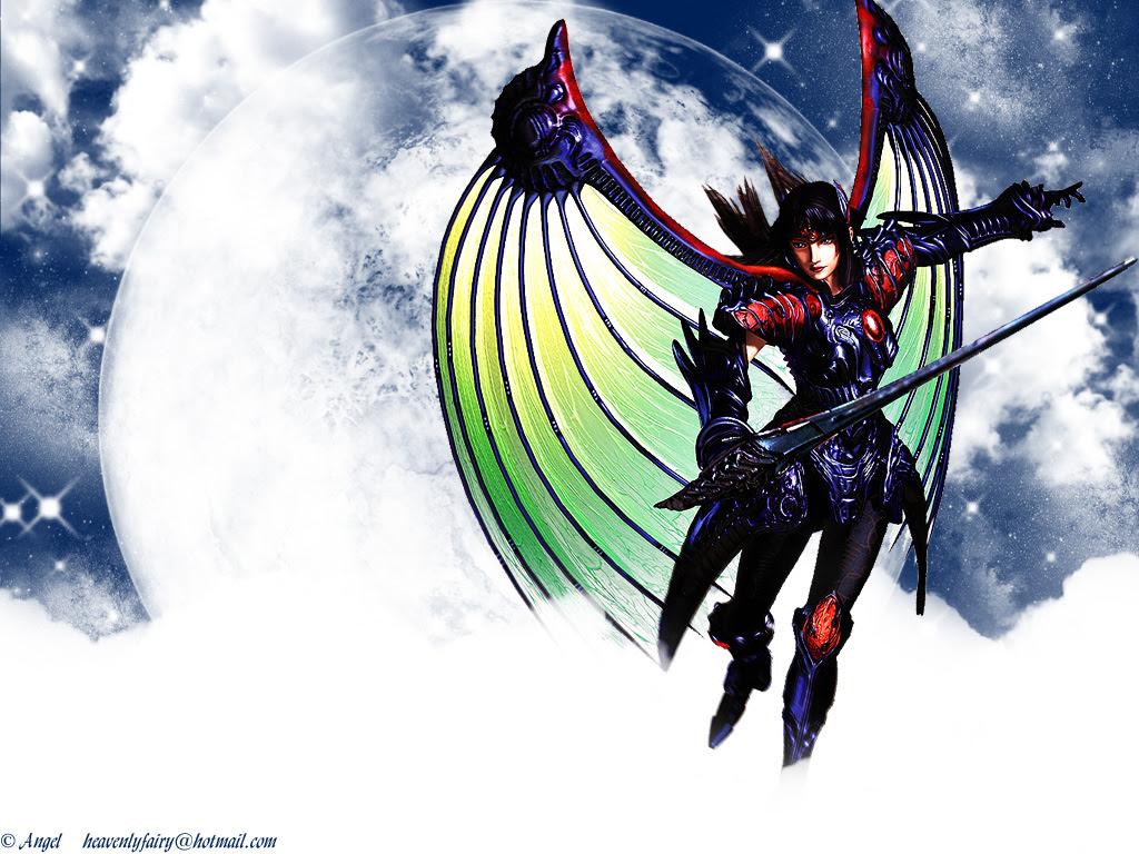 Legend Of Dragoon Wallpaper Moonlit Rose Minitokyo