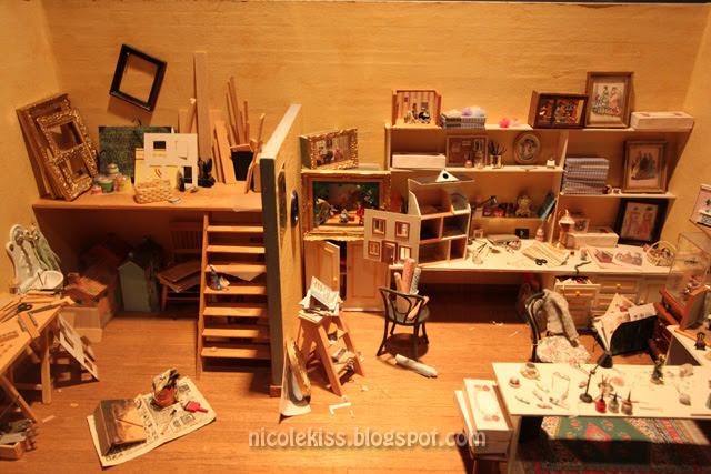 mini carpenter's room