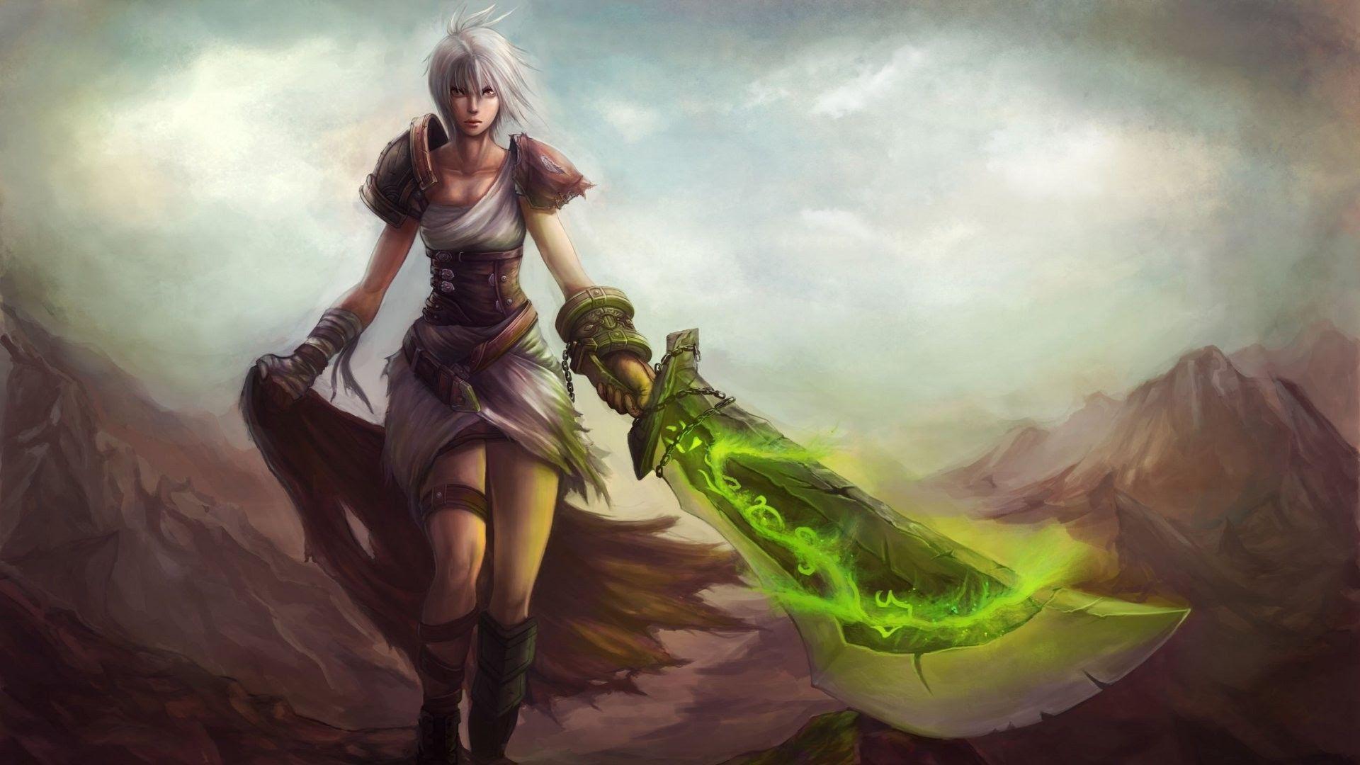 Riven League Of Legends Wallpaper 1920x1080 25786