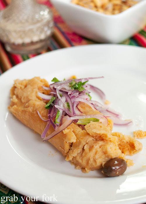 Chicken tamal