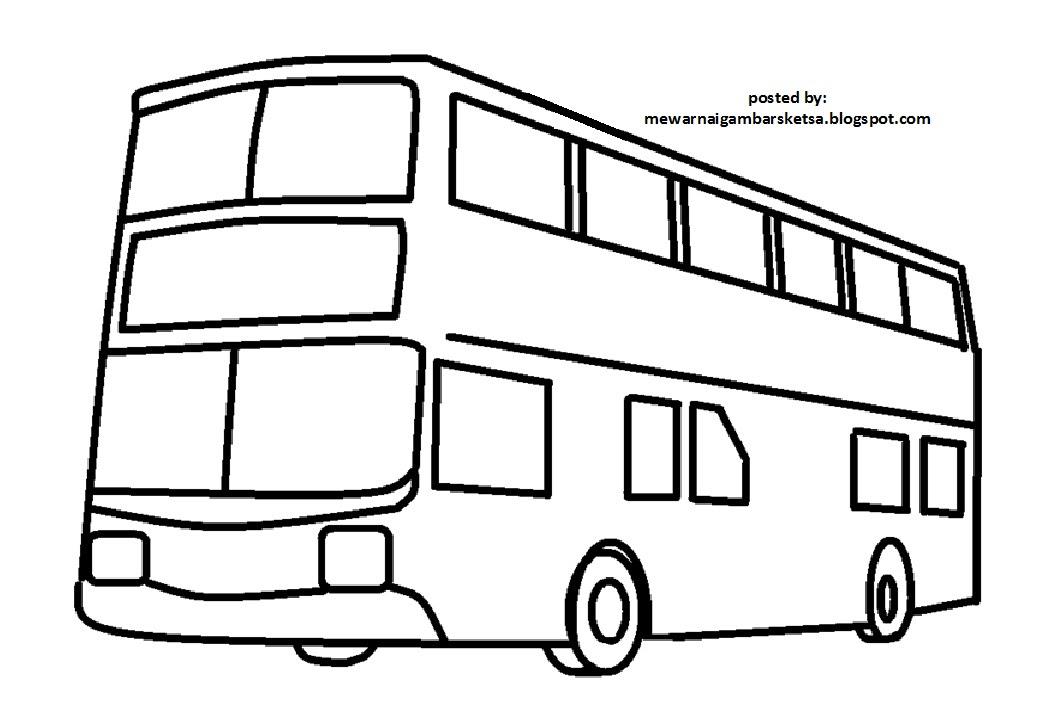 Gambar Mewarnai Tayo Gambar Mobil Bus Di Rebanas Auto Electrical