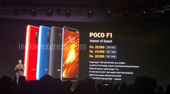 XiaomiPoco F1 price in India, specifications, features: