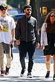 justin timberlake keeps a low profile while out with friends 03