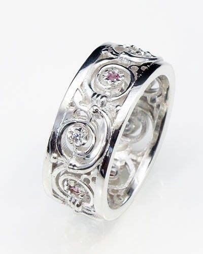Wiccan Wedding Rings   unique handmade celtic jewellery in