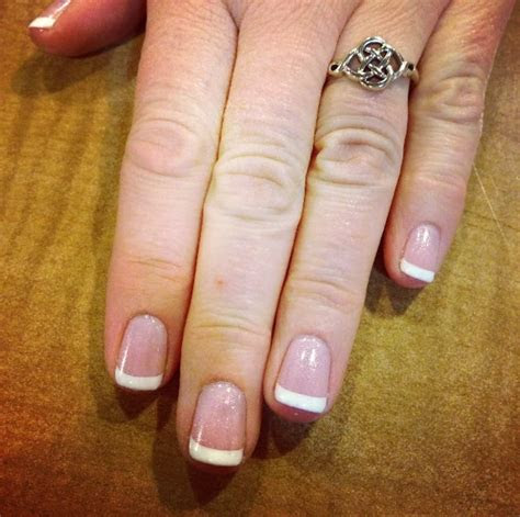 pink  white opi gel  natural nails yelp