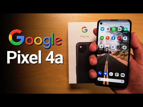 Google Pixel 4a Review in english