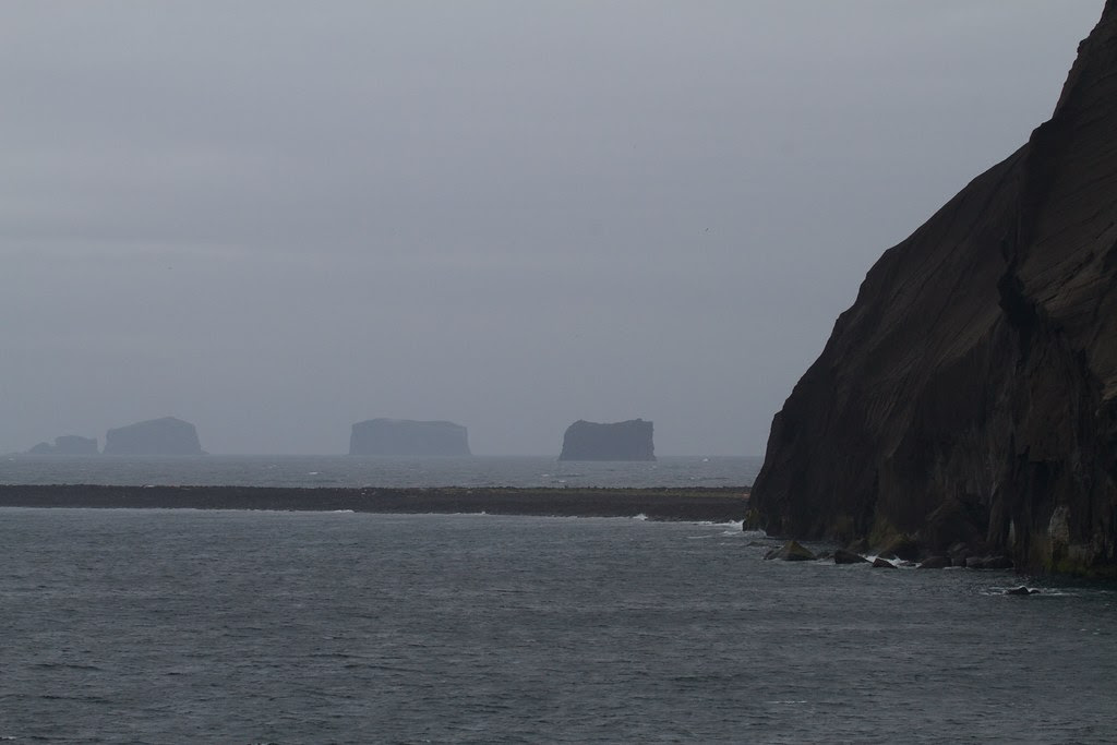 Westman islands from Surtsey