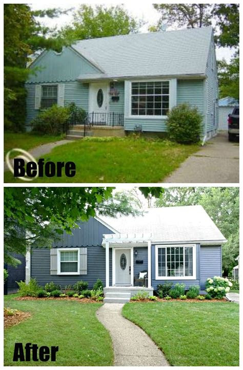 curb appeal house makeovers house exterior