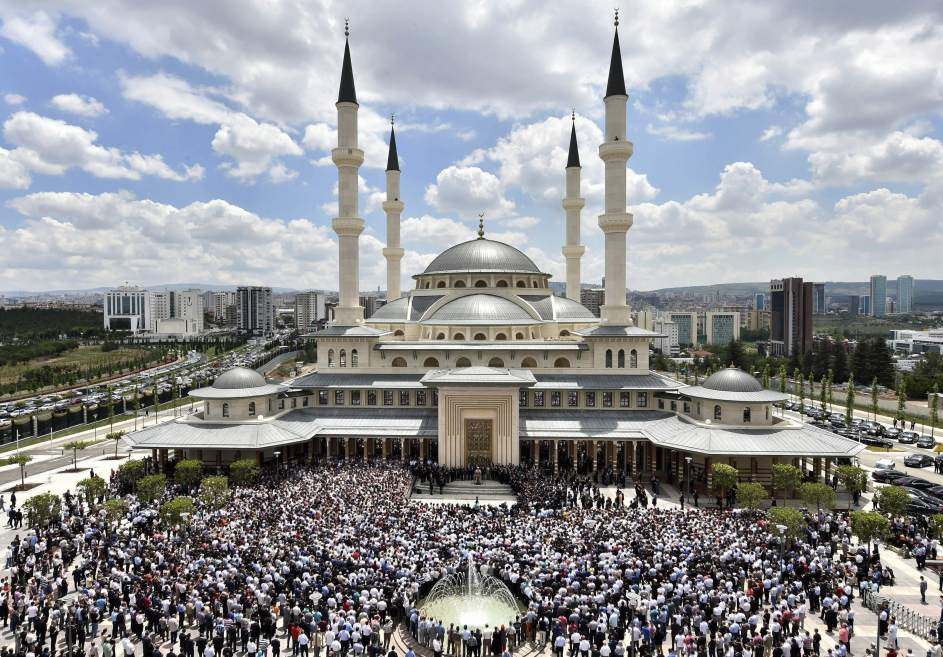 Nueva mezquita en el palacio presidencial de Ankara