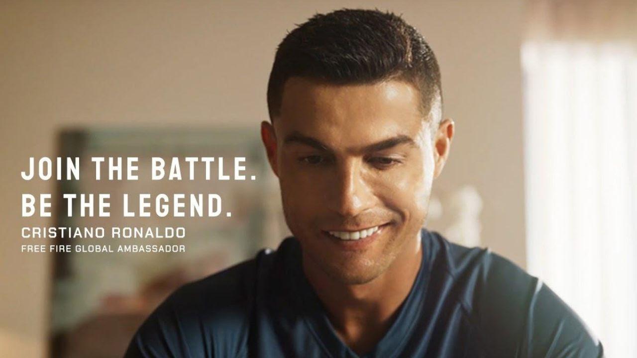 Cristiano Ronaldo in Free Fire