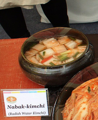 Nabak-kimchi - Radish Water Kimchi