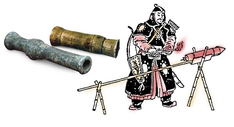 Pólvora. Inventos de la antigua china.