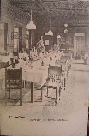 Comedor del Hotel Castilla de Toledo