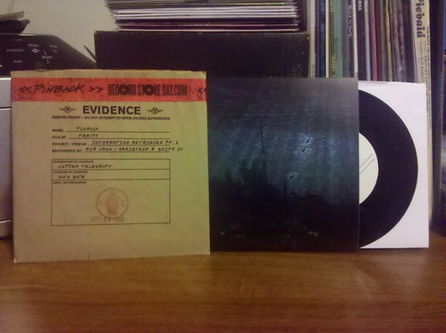 Record Store Day Haul #2 - Pinback - Information Retrieved Pt. A 7""