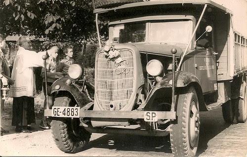 Camió Dodge de TRANSPORTS PERE BROSA de Castellfollit de la Roca