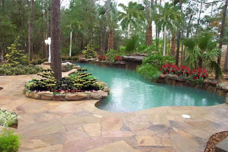 Backyard oasis pools and construction