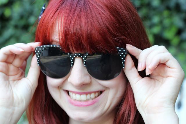 Polka Dot Sunglasses