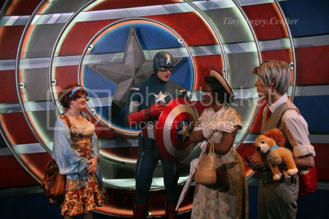 TinyAngryCrafts Captain America and friends