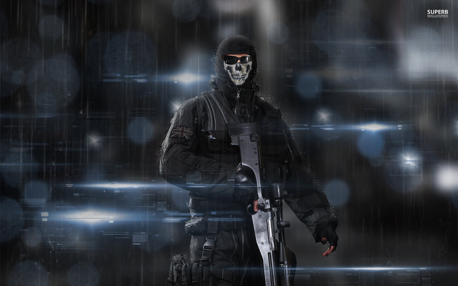 Download Call Of Duty Wallpaper Ghost