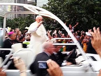 Papa Francisco - MT (Foto: Luis Guilherme Neto/Arquivo pessoal)