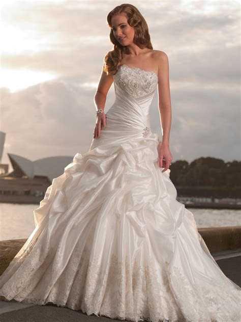 Wedding ball gowns.