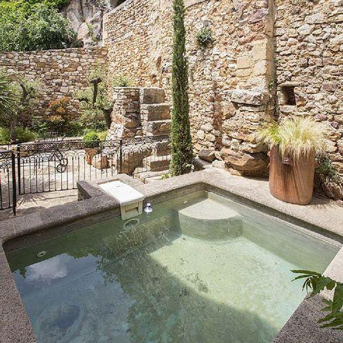 Jacuzzi Casa rural, estilo provenzal en La Capelle et Masmolène