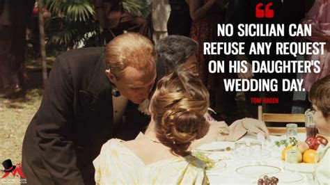 Godfather Quotes My Daughters Wedding Day