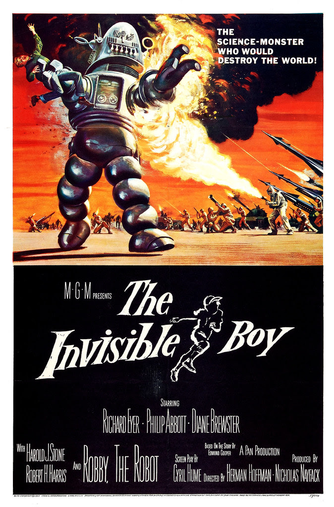 Reynold Brown - The Invisible Boy (MGM, 1957).